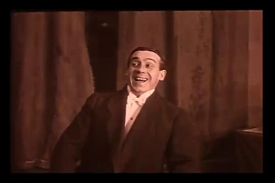 L'acteur Tramont dans le film Figures de cire (1914) de Maurice Tourneur