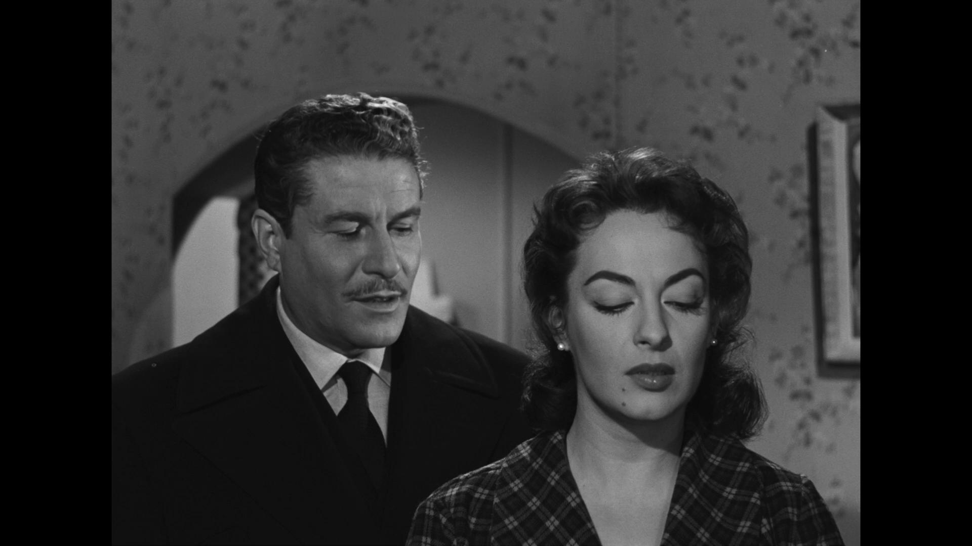 Amedeo Nazzari et Yvonne Sanson dans le film Malinconico autunno (1958) de Raffaello Matarazzo