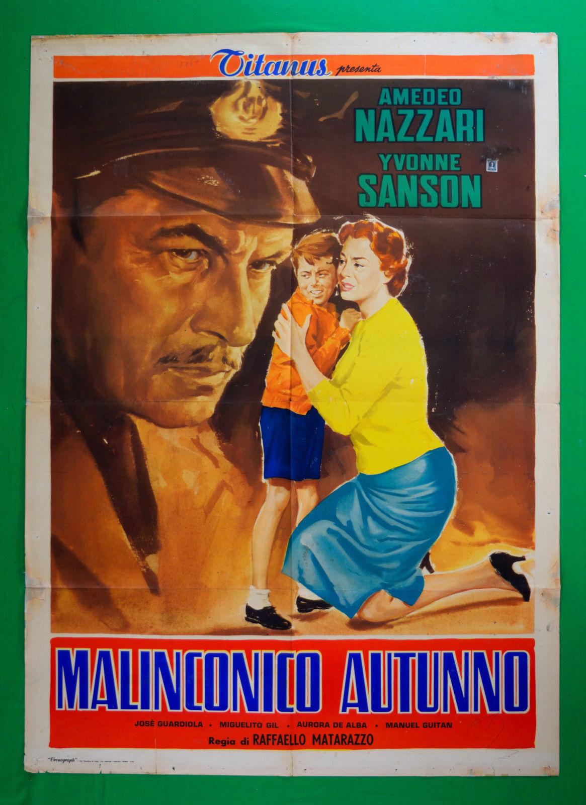 Affiche du film Malinconico autunno (1958) de Raffaello Matarazzo