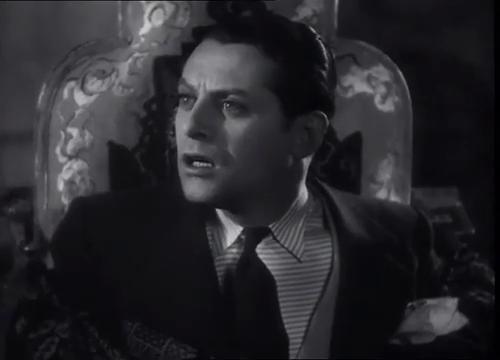 L'acteur Jacques Maury dans le film La maison jaune de Rio (1931) de Karl Grune