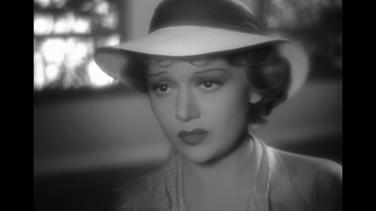 Edwige Feuillère dans le film La dame de Malacca (1937) de Marc Allégret