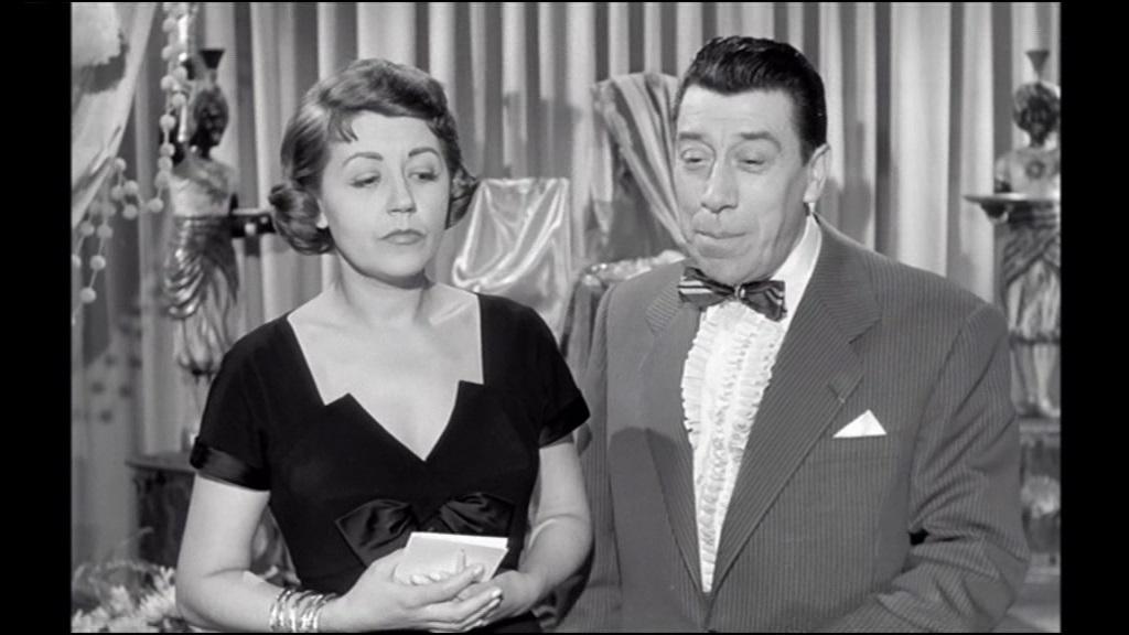 Suzy Delair et Fernandel dans Le couturier de ces dames