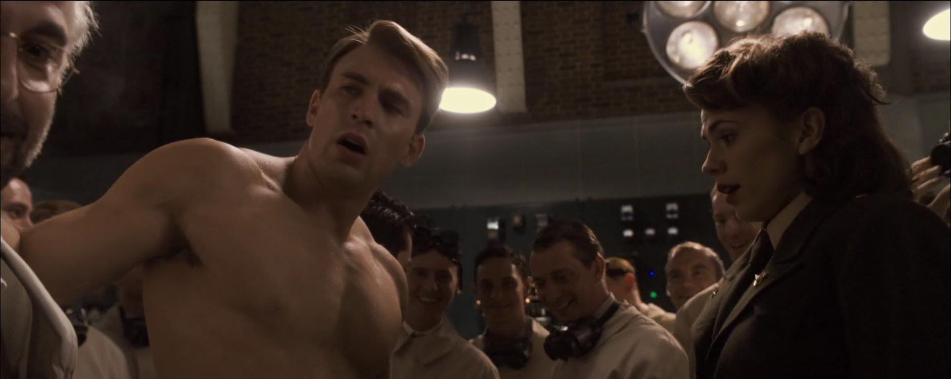 Chris Evans dans Captain America : First Avenger