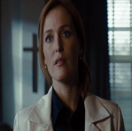 Gillian Anderson dans X-Files : Régénération