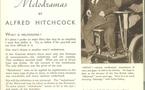 Why I make melodramas, par Alfred Hitchcock