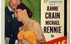 Affiche du film Dangerous crossing (Meurtre à bord, 1953) de Joseph M. Newman
